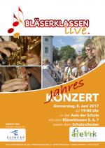 Jahreskonzert der Bläserklassen und des Schulorchesters