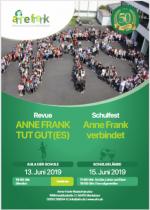 Festwoche zum Jubiläum der Anne-Frank-Realschule